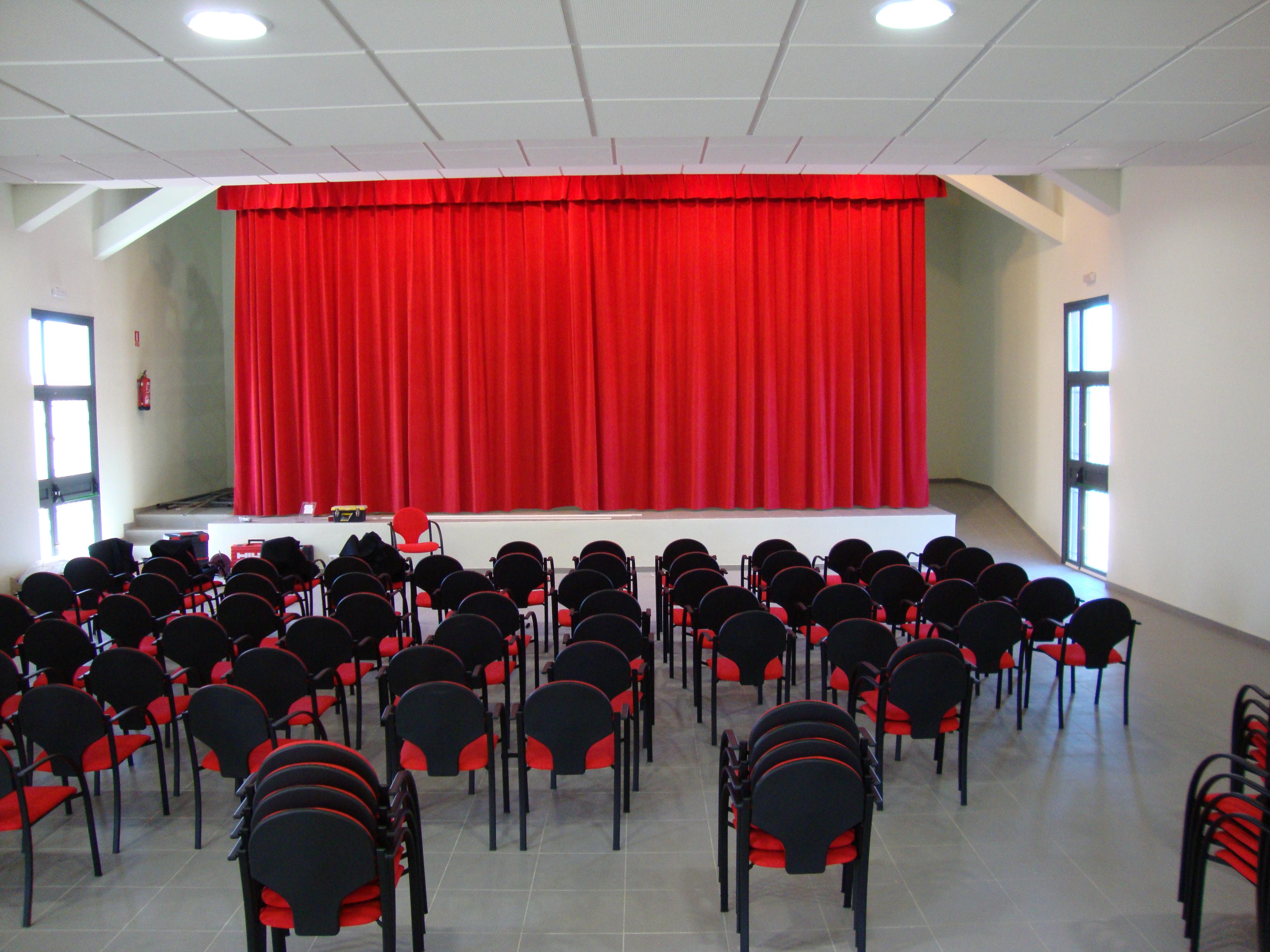 telones de teatros en Sevilla