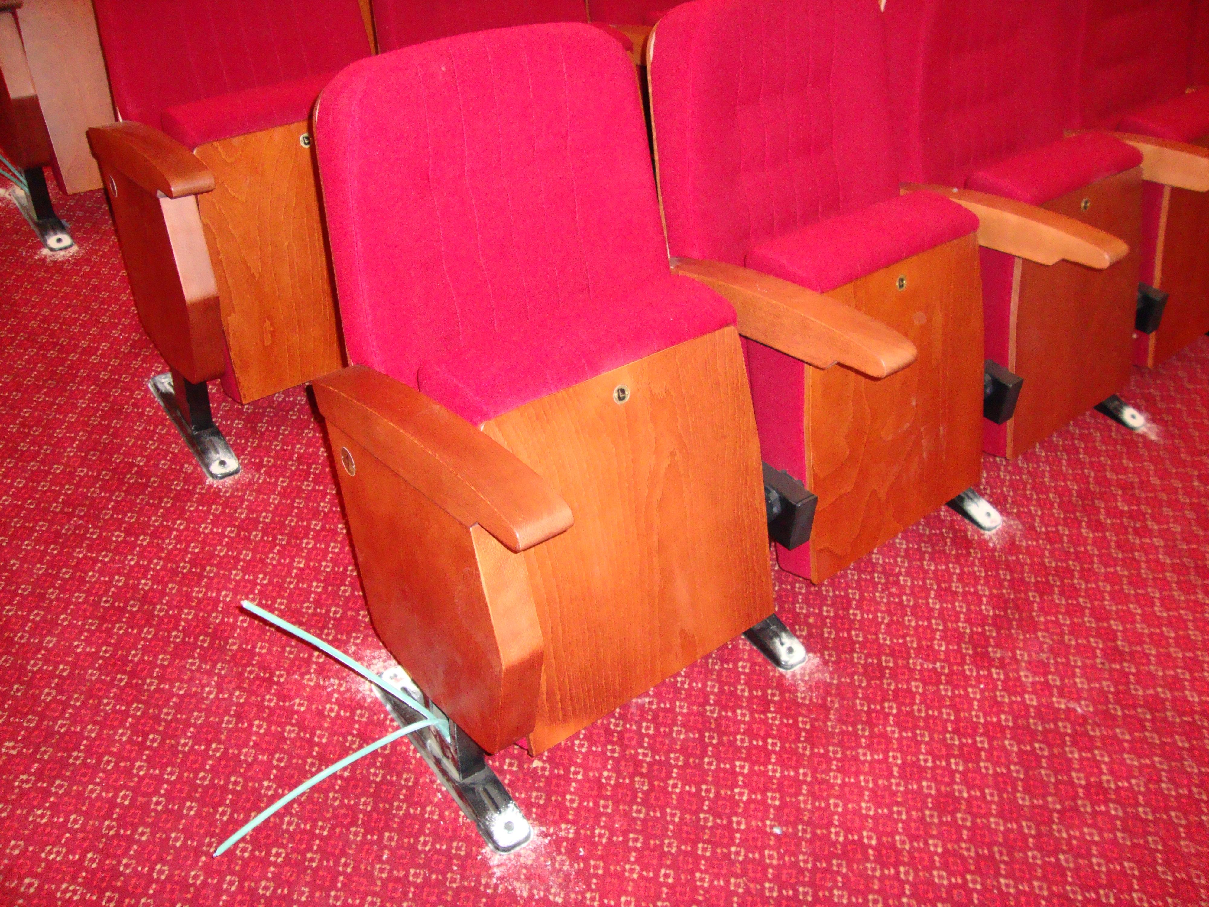 tapicerías ignífugas para teatros