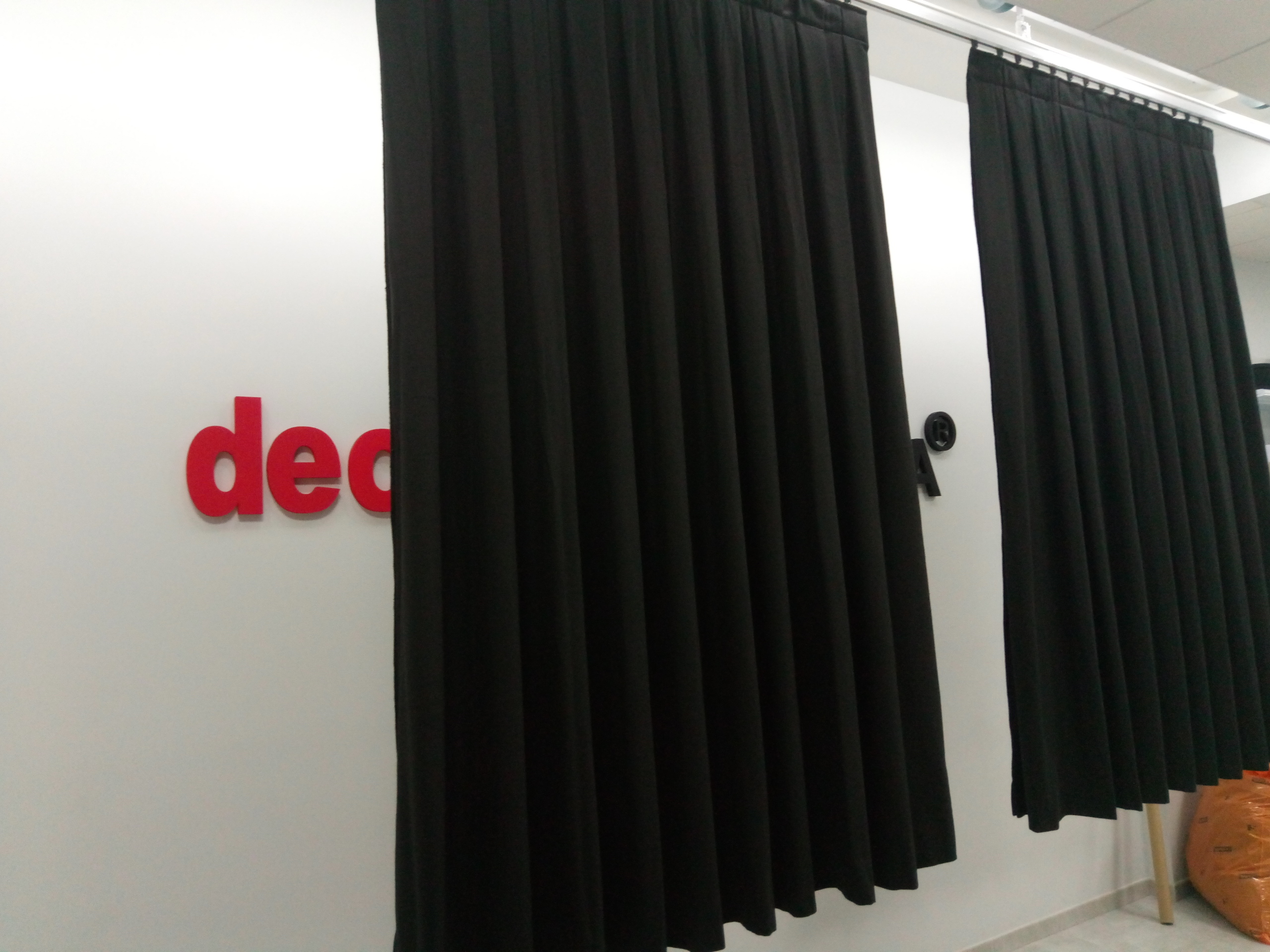 cortinas ignífugas acústicas