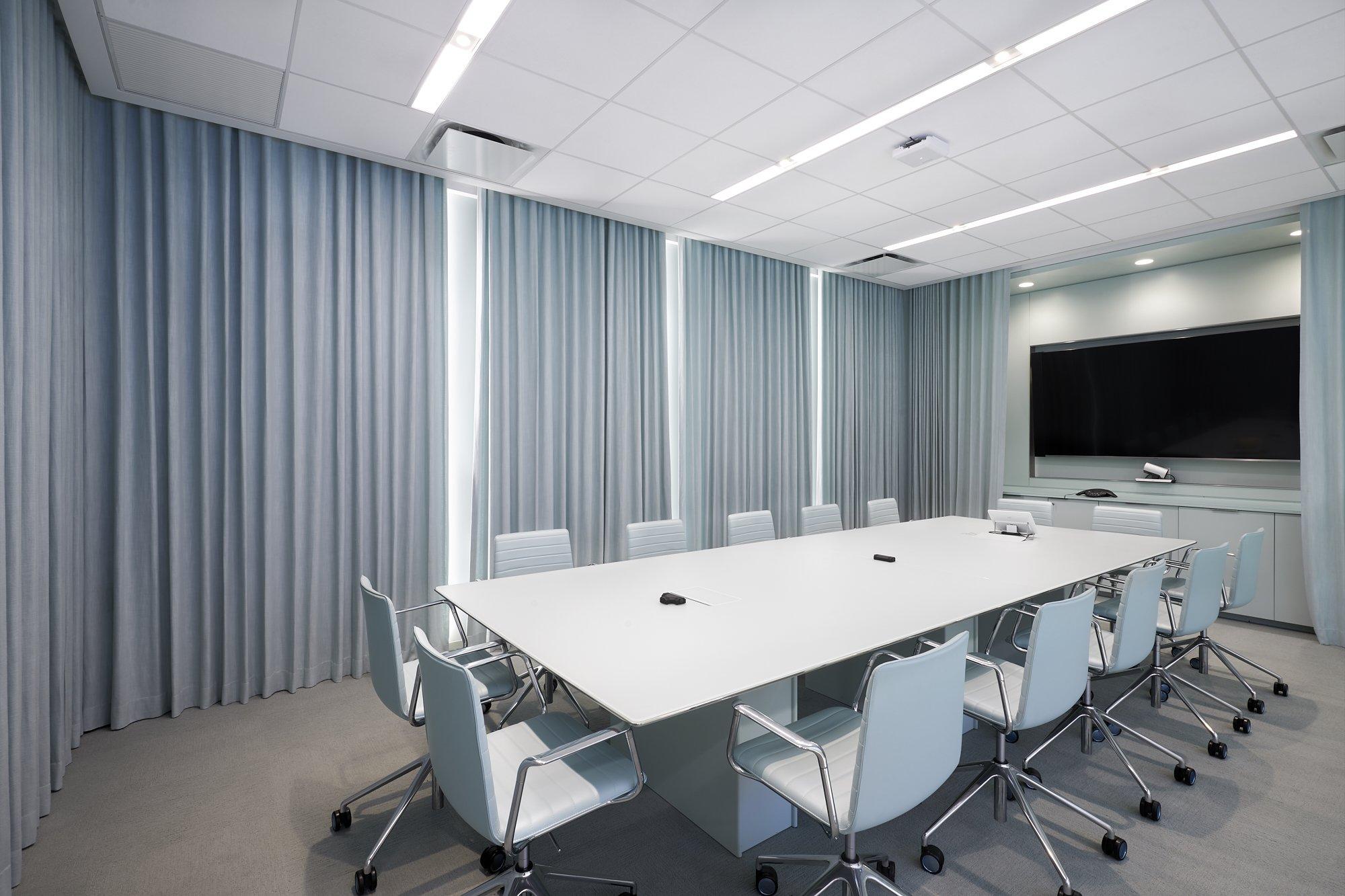 Cortinas acústicas para oficinas