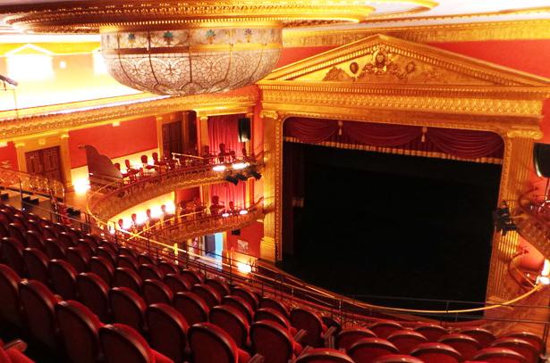 instalación de telones para teatros en huesca