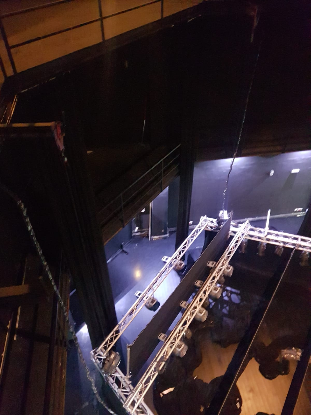 cámara negra para teatros