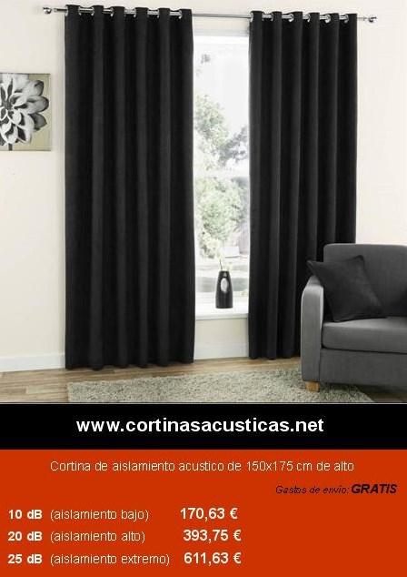 cortinas acústicas ignifugas